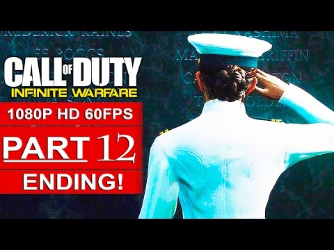 CALL OF DUTY INFINITE WARFARE ENDING Gameplay Walkthrough Part 12 CAMPAIGN [1080p HD 60FPS]
