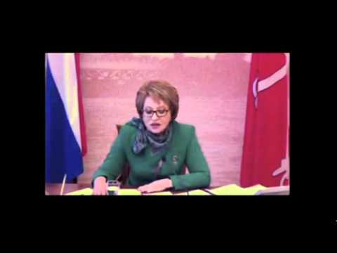 Valentina Matviyenko discusses new developments for SPIEF 2011