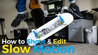 How To Shoot & Edit Slow Motion [Canon, Sony & Panasonic]