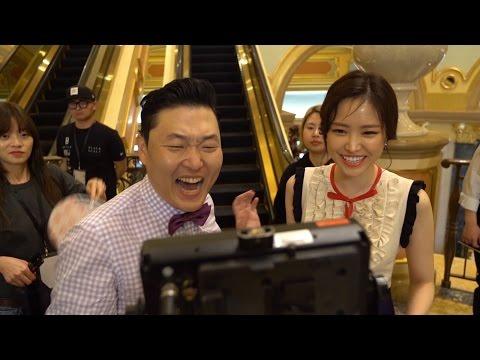 PSY(싸이) 'New Face'(뉴페이스) MV MAKING FILM Release…싸이X손나은, 훈훈한 선후배의 좋은 예 (4X2=8, Apink, 손나은)