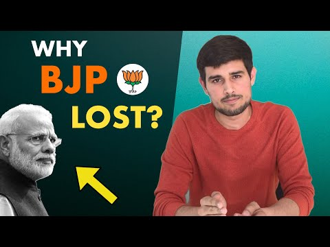 Why BJP lost the 2018 Elections? Harsh Reality about why Indians are fed up of BJP   Dhruv Rathee thumbnail