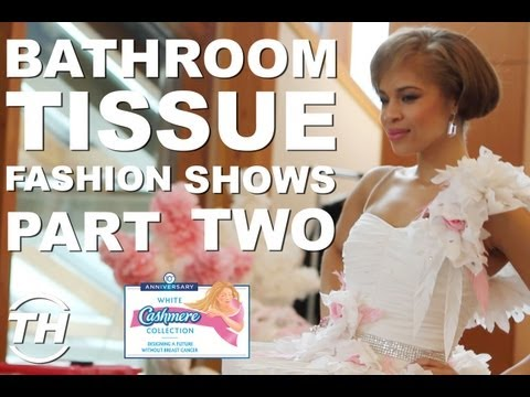 Bathroom Tissue Fashion Shows: Part II - Farley Chatto Talks Curating the White Cashmere Collection