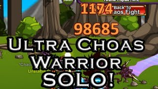 AQWorlds Ultra Chaos Warrior Solo