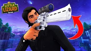 NEVER STEAL JOHN WICK'S SCOPED REVOLVER!!! - Fortnite Short Film