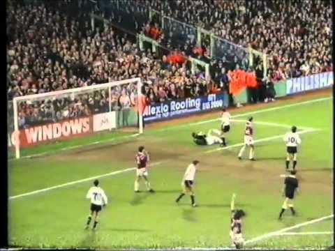 West Ham United v Manchester United 22/4/1992 1-0