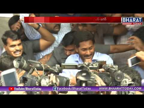 Ys Jagan First Time Response on His Attack | Bharat Today
