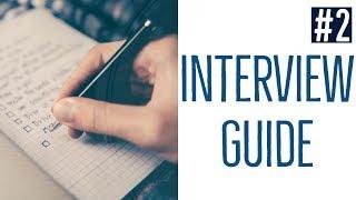 Interview guide (Qualitative interviews #2)