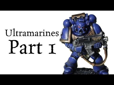 How to paint Ultramarines Space Marines pt.1