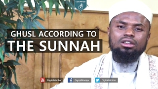 Ghusl According to the Sunnah – Okasha Kameny