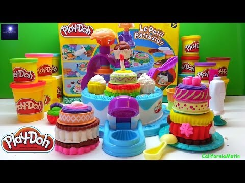 Play Doh Christmas Birthday Cake Playset Dessert Play-Doh Station