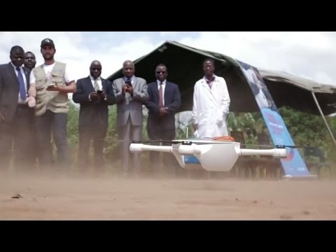 Malawi tries out drones to speed up HIV blood testing