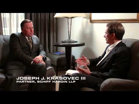 Meet Trial Lawyer Joe Krasovec (Schiff Hardin; Chicago, IL)
