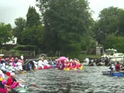 Thames Water Raft Race
