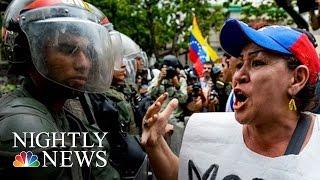 Venezuela In Turmoil: Violent Protests Continue | NBC Nightly News