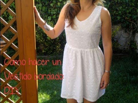 Como hacer un vestido: (Patrón gratis). Como hacer un vestido con patronesmujer.com