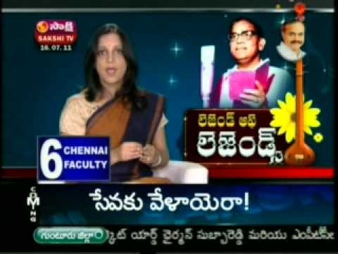 Sakshi Tv - Ghantasala Songs In Legends Part -2 video
