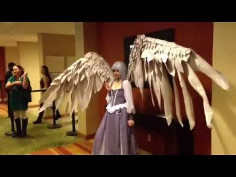 Epic elf cosplay dragon rider cam show