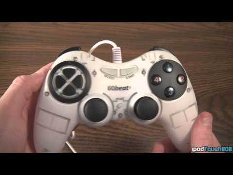 60Beat iOS GamePad Review - Game Controller For iDevices!