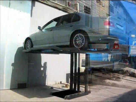 sollevatore per auto monocolonna modello eurolift youtube