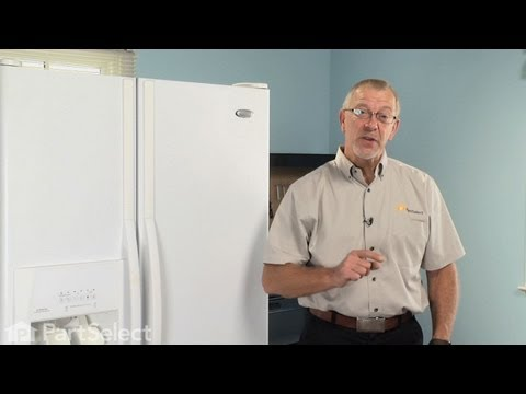 Refrigerator Repair - Replacing the Water Inlet Valve (Whirlpool Part# 4389177)