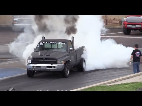 Diesel Drag Trucks Drag Racing Episode 2