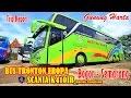 Naik Bus TRONTON PREMIUM SCANIA K410IB GUNUNG HARTA | Bogor-Semarang