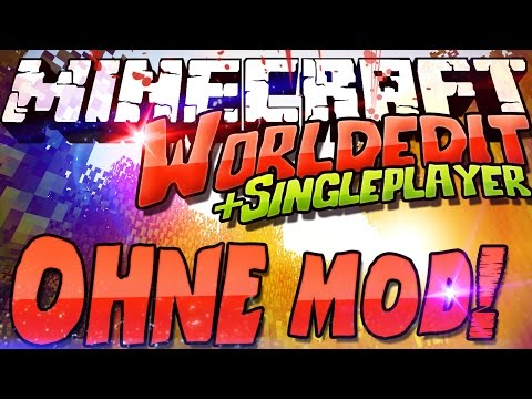 Worldedit Commands OHNE Mod / Plugin! Minecraft 1.9 Multi + Single Player! /fill Tutorial Deutsch
