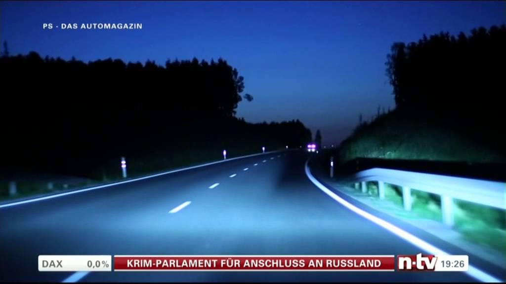 NTV bmw i8 laser headlights laserlicht - YouTube