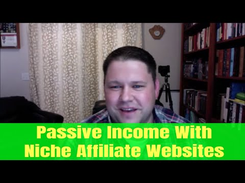 Passive Income With Niche Affiliate Websites - Ricky Kesler Interview - Income School