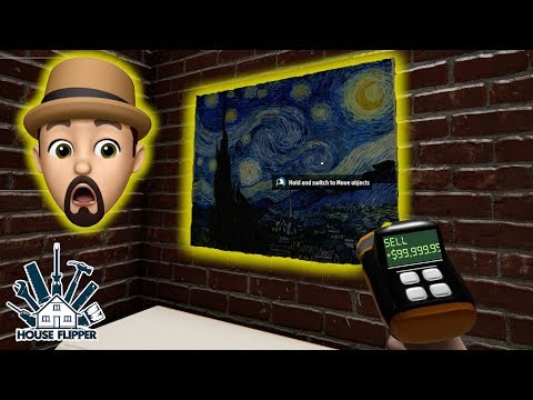 THE VAN GOGH WAS REAL!! | House Flipper #6