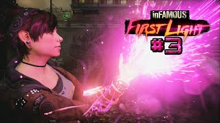 inFamous: First Light DLC #3 | IRMÃO ONDE ESTÁS | PS4 1080p HD Português/PT