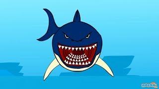Sharks - Creepy Sea Creature Facts | Mocomi Kids
