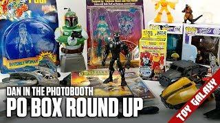 PO Box Round Up (Disney Toy Box, Funko Pops, Godzilla) - Dan in the Photobooth #148
