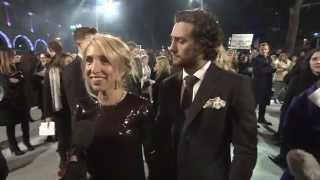 Fifty Shades Of Grey: UK Red Carpet Sam Taylor-Johnson Official Interview