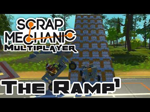 Ramp Tricks, Part 1 - Let's Play Scrap Mechanic - Gameplay Part 41