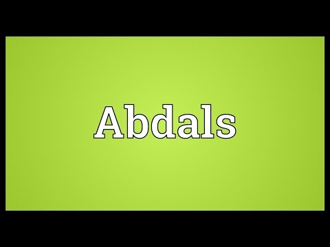 Header of abdals