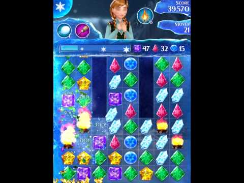 Disney Frozen Free Fall Level 223