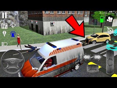 Emergency Ambulance Simulator #9 - Simulator Game Android gameplay
