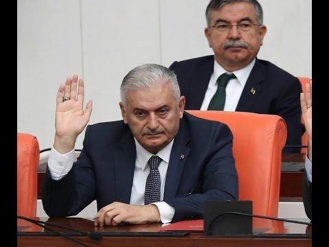 New Turkish PM wins parliament confidence vote