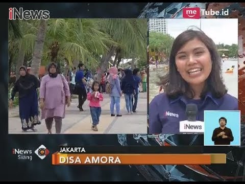 Menjadi Destinasi Liburan, Pantai Ancol Dipadati Para Pengunjung - iNews Siang 01/12