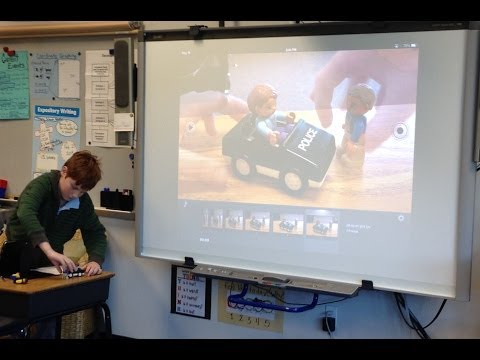 6th Grade Student at Echo Horizon School Oliver S Talks About iStopMotion
