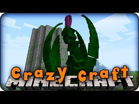 Minecraft Mods - CRAZY CRAFT - Ep # 25 PREPARE FOR MOBZILLA!!' (Orespawn Mod/ Dubstep Gun Mod)