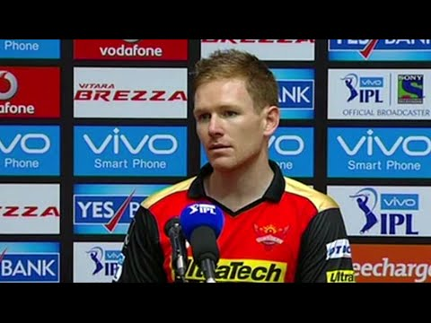 SRH v MI: Mustafizur and Bhuvi were brilliant - Eoin Morgan
