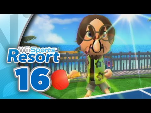 Wii Sports Resort: Part 16 | Table Tennis - Return Challenge (4-Player)