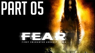 F.E.A.R PC Game (Horror + FPS) 2003. PT05
