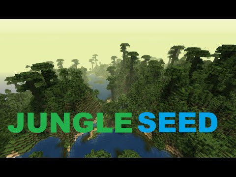 Minecraft 1.7.10 BEST Jungle Seed Ever
