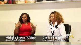 StraightFromTheA.com EXCLUSIVE: RHOA Cynthia Bailey Re: Her Issues with Blogs, New Projects (4 of 4)