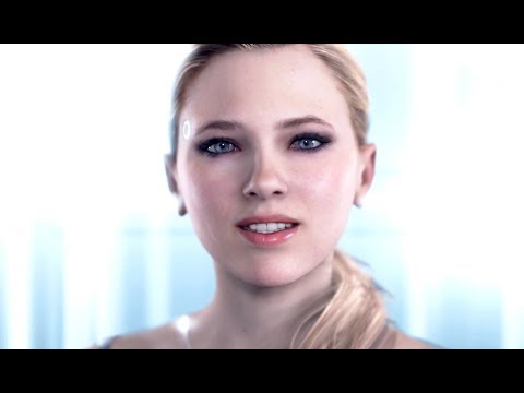 DETROIT BECOME HUMAN - CHLOE's All Main Menu Quotes & Dialogues (including survey)