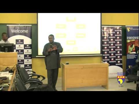 Dangote Inspiring Entrepreneurs at Lagos Business School Part 6