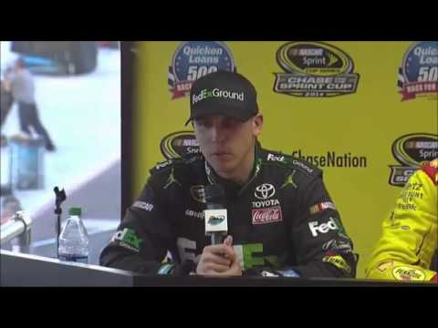 Denny Hamlin - Joey Logano - Ryan Newman Phoenix NASCAR Video News Conference